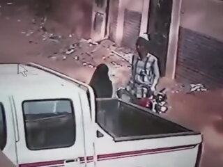 Lone Muslim Woman Fucked In..