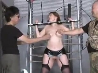 Torture for slave Yumiko...