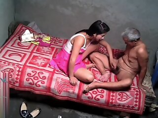 Asian Grandpa With Sexy..