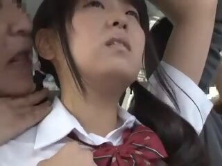 young jap schoolgirl is..