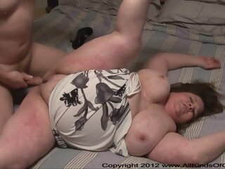 Short bbw gets buttfucked