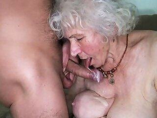 curvy 91 years old mom..