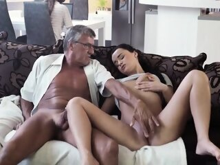 Striptease pussy rubbing and..