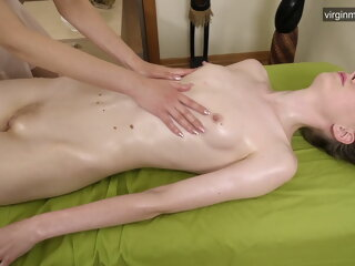 First pussy massage for..
