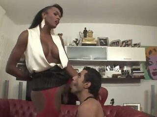 Black Brazilian Tranny Fucks..