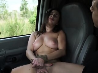 Hard rough pussy creampie..